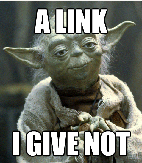 Not Giving a Link