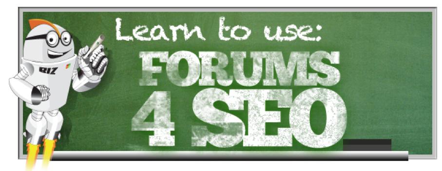 Forum Posting For SEO